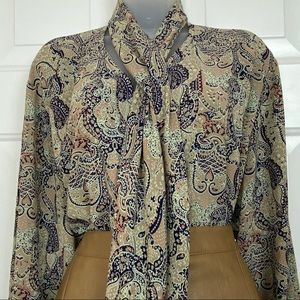 Vintage Country Sophisticates by Pendleton Blouse